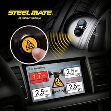 2015 SteelmateTP-05E A/V Monitor DIY TPMS auto emergency multi tool led light, tire pressure gauge pencil,automotive tools