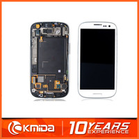 100% original touch screen display digitizer for samsung galaxy s3 i9300 lcd