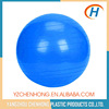 China Gold supplier PVC commercial yoga ball with latex tubes and handles