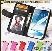 2016 New Card Holder Wholesale Multifunctional Custom Genuine Leather Personalized Mobile Phone Card Holder For OEM Design