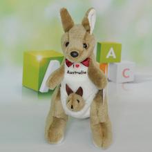 "OEM high quality 12"" Tree Kangaroo With Baby Plush Stuffed Animal Toy12"" Tree Kangaroo With Baby Plush Stuffed Animal Toy"