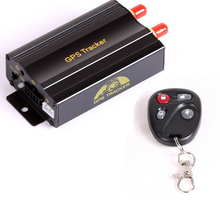 TK103B Vehicle GPS tracker Remote Control Portoguese Manual Quad band SD card GPS 103 PC&web-based GPS system