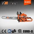 CE / GS aprobado sierra de cadena máquina de cortar madera, motosierra homesite más barata con motor 58cc