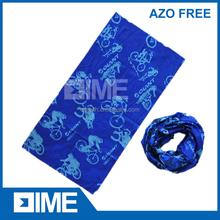 Microfiber Tube Headwear,Cycling Headwear,Blue Headwear