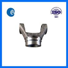 Forged steel drive shaft weld yoke