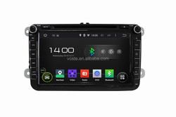 China OEM Android 4.4 Car Dvd Radio With Gps Navigation for VW Universal