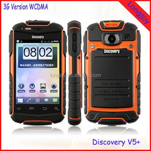 Best Selling Touch Screen Rugged Waterproof Mobile Phone Discovery V5 Android 4.2 Smartphone