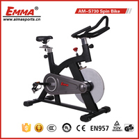 2015 High quality fitness equipment body building spinning exercise bike S730