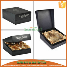 hinged cardboard boxes for glasses wine bottle