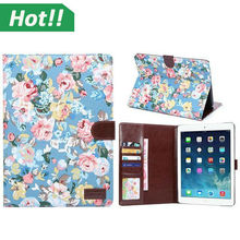 Luxury Designer 360 Rotation PU Leather case Smart cover for ipad 2 3 4 air flip cases with stand