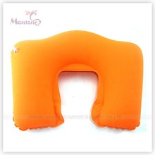 U-shape Inflatable Neck Pillow for Traveling 44*27.5cm,travel pillow