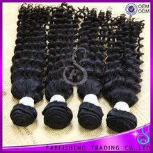 Human hair extensions wholesale quality virgin eurasian deep wave hair