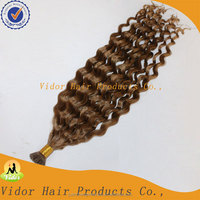 2015 High Quality Italian Wave Factory Price I Tip Hair Extensions Wholesale