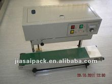 continuous band sealer with gas FRD900 constant heat sealer poly bag sealer