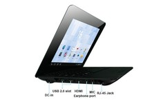 Hot sell Cheap 10 inch laptop with Android 4.2 VIA8880 netbook laptop 512MB 4GB