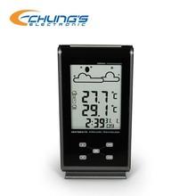 Alarm clock preset weather alert home weather station