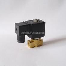 normally open solenoid valve high pressure brass air oil solenoid valve 12v dc high pressure solenoid valve