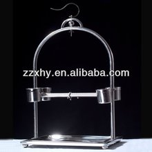 Hot! Stainless Steel Parrot Stand macaw parrot play stand bird cage Pure Handmade