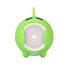 Alarm Clock Shape lcd Display Speaker, Support Tf Card / U Disk Reader & Fm Radio / Calendar / Time / Alarm Clock For Iphone