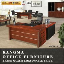 Made in china supplier l-shaped executive wooden office desk