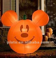 Attractive halloween inflatable wholesale foam pumpkin