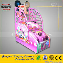 children play basketball, coin operated kids play basketball game machine