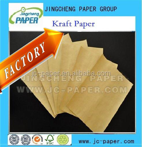 Produto comestível embalagem de papel kraft branco