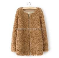 new long faux fur windbreaker sheep fur coats coats for women