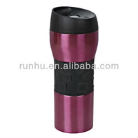 trendy colorful patterned vacuum flask