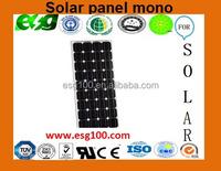 flexible solar panel 150W mono solar energy panel solar panel