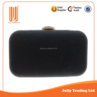 Hot selling clutch bag pu evening lady fancy evening clutch bags