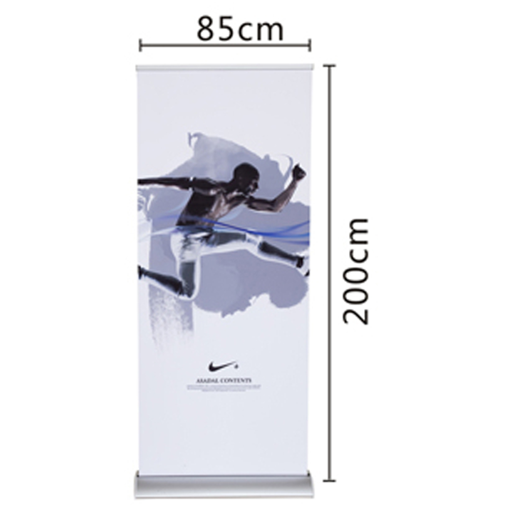 Exhibition Stand Roll Up : Portable display equipments economic roll up stand brand