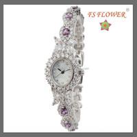 FS FLOWER - Shell Jewelry Women Watch Girls Retro Jewelry Set