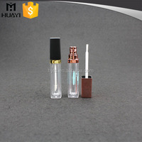 5ml fancy lip gloss container,led light lip gloss container with brush,unique mini lip gloss container