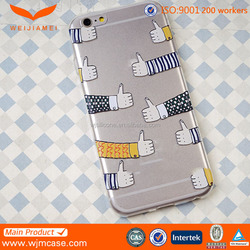 For iPhone 6S Cheap Silicone Mobile Phone Cover Made in China