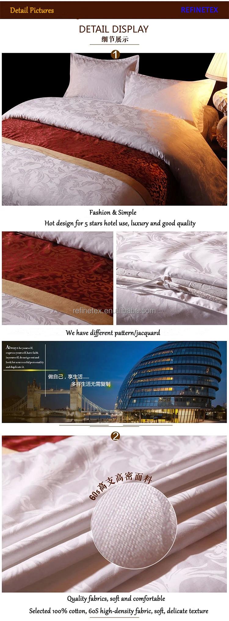 Hotel bettwäsche hersteller für tagesdecken für hotel/bettlaken ...