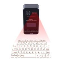 New Design Virtual Bluetooth Projection Laser Keyboard with Screen 2015