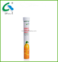 GMP approved vitamin C effervescent tablet