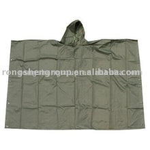 Green Military Cape Poncho/ Survival Shelter