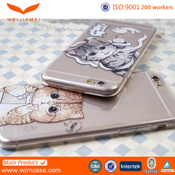 High Quality Custom Blank Sublimation Phone Cover For Iphone 6/ Plus Manufacturer