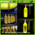 produto de anúncio inflável gigante de garrafa de cerveja inflável garrafa de corona