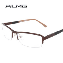 186 ewhdmy high quality ALMG myopia frames men's new magnesium alloy business simple optical glasses frames dedicated 8081