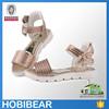 HOBIBEAR 2015 kids shining crystal sandals for girl child jeweled sandals
