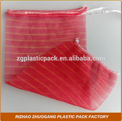 Factory fruit and vegetable packing mesh net bag