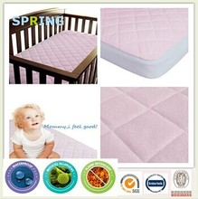 Bed Bug Proof Baby Organic Wool Quilted Crib Mattress Pad-Protector ,Excellent Cover