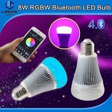 Newest Design E27 Bluetooth Light Bulb Smart Color Bulb