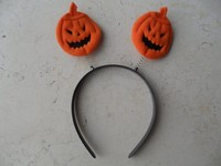Latest Factory New Design Pumpkin halloween hair accessories hair bands