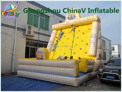 Tutankhamun inflatable climbing wall,inflatable rock climbing wall,inflatable climbing rocks for children and adults