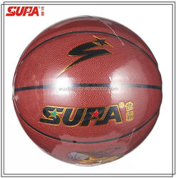 custom made good quality laminated basketball /outdoor and indoor basketball