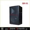 High Quality China RCF Two Way Full Range Speakers 15 SR-15
